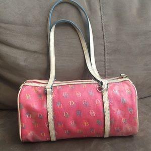 Dooney & Bourke mMulticolor roll handbag